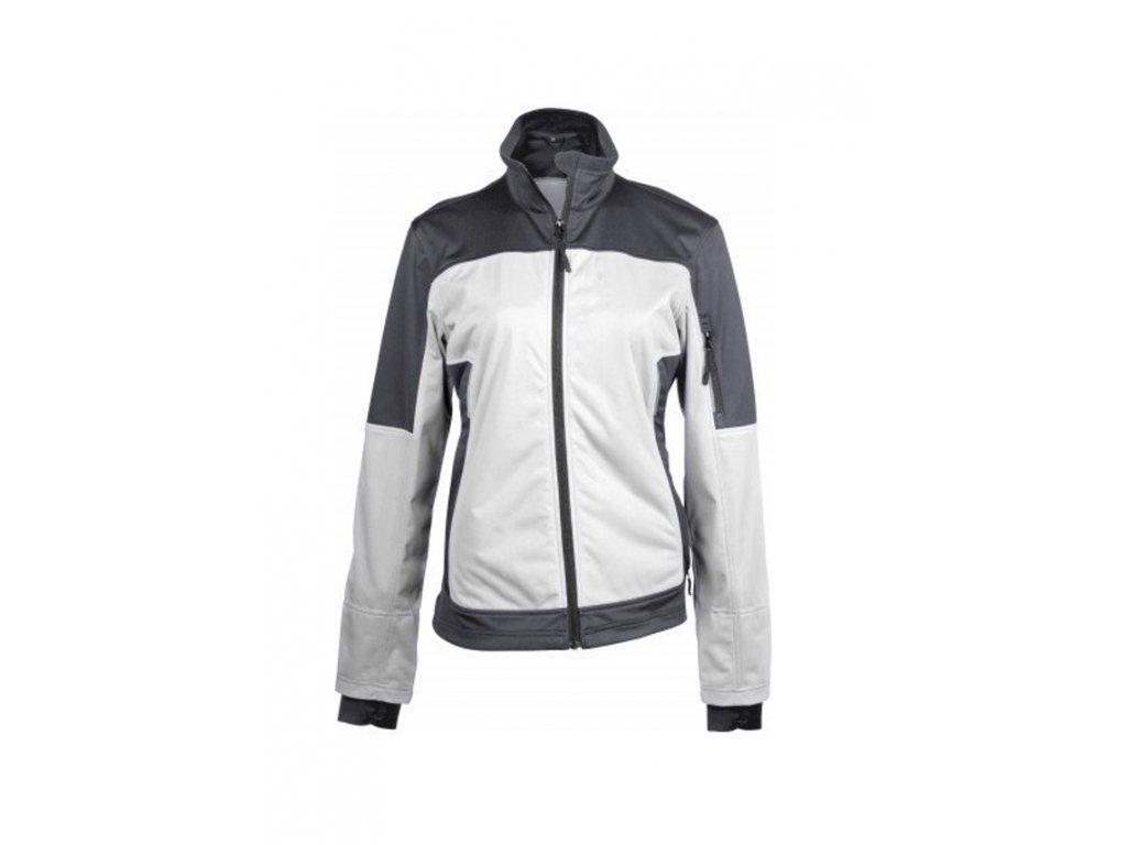 Kariban K416 bunda bílá šedá velikost S