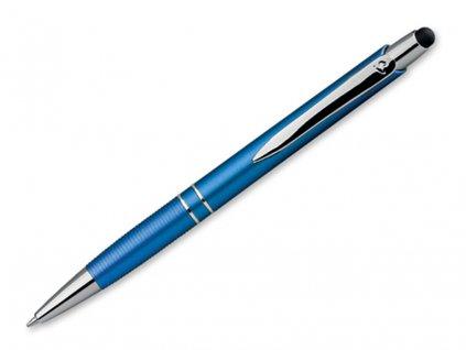 MARIETA PLASTIC STYLUS plastové kuličkové pero s funkcí touch pen, modrá náplň, SANTINI
