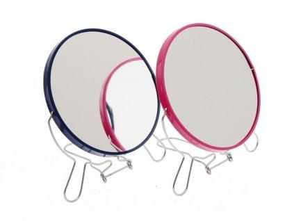 Kosmetické zrcadlo průměr 9,5 cm oboustranné 1761366