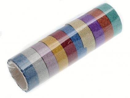Dekorační lepící páska 10 ks 7040116