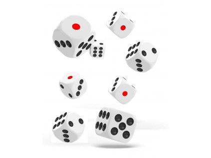 Hrací kostky 8 ks