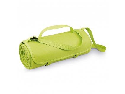 Cestovní skládací fleecová deka s popruhem 99077 19