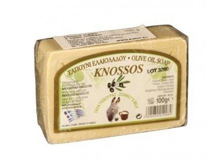 Řecké olivové mýdlo s oslím mlékem 100g