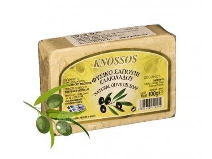 Řecké olivové mýdlo přírodní 100g