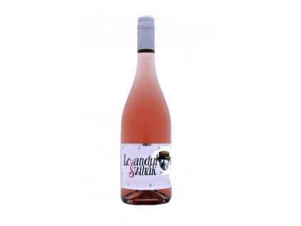 Víno levandulový švihák 0,7l 1 ks láhev