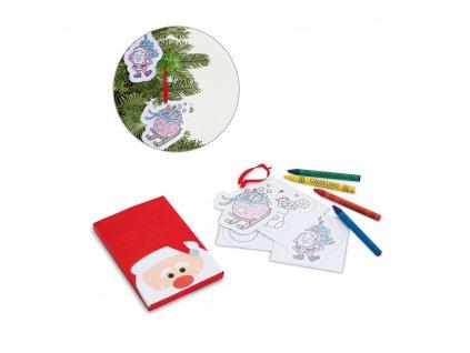 Omalovánky vánoční ERZU 93443 set