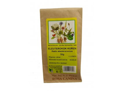 Bylinný čaj Eleuterokok kořen 50g