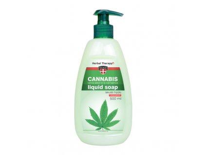 cannabis rosmarinus tekute mydlo s pumpickou Palacio 500ml