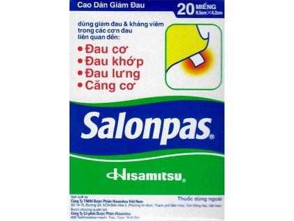 SALONPAS náplasti 20 ks