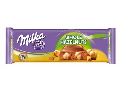 Čokoláda Milka 270g Whole Hazelnuts