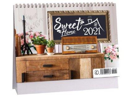 Kalendář stolní Sweet Home 2021 8590798002567 1