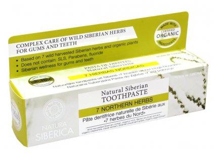 Zubní pasta 7 severských bylin 100g