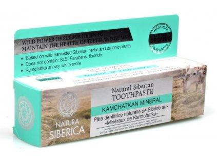 Zubní pasta Minerály Kamčatky 100g