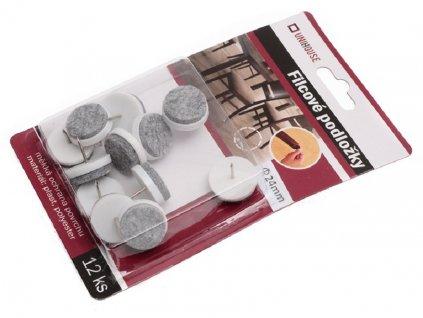 Filcové podložky pod nábytek 12 ks 2560472