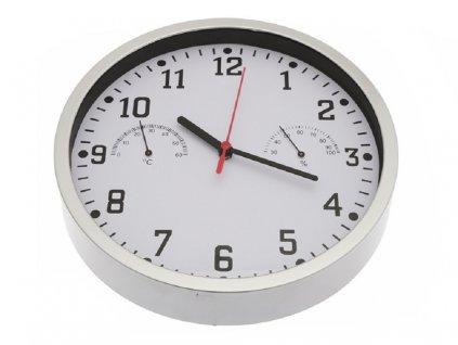 Nástěnné hodiny s teploměrem a vlhkoměrem 3672250