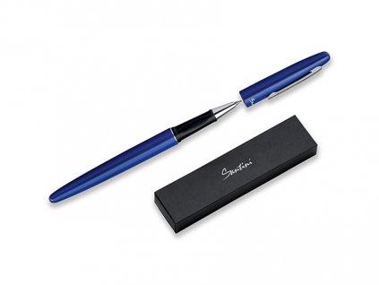GROOVY kovové kuličkové pero v dárkové krabičce, náplň modrá, SANTINI