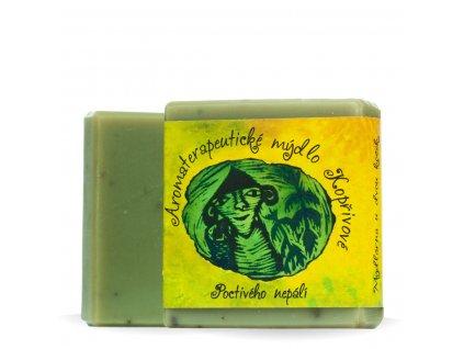 aromaterapeuticke mydlo koprivove