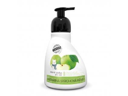 Sprchová pěna zelené jablko vhodné pro děti