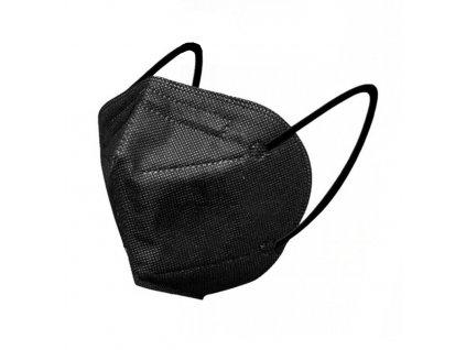 Screenshot 2021 03 08 HO Comfort Respirátor ústní ochranný 5 vrstvý FFP2 obličejová maska Černá 25 kusů