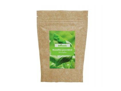 Bazalka posvátná drť z byliny 100g