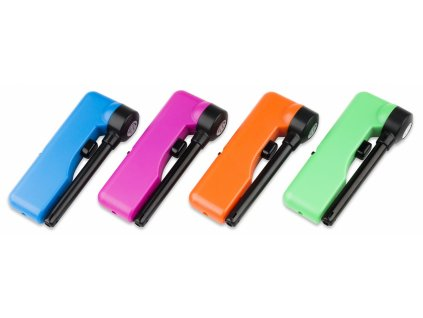 Zapalovač otočný plynový 4 barvy