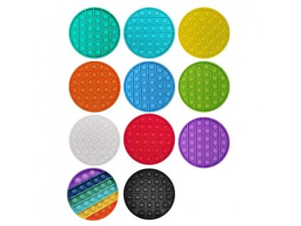 Antistresová hračka silikon mix barev 2