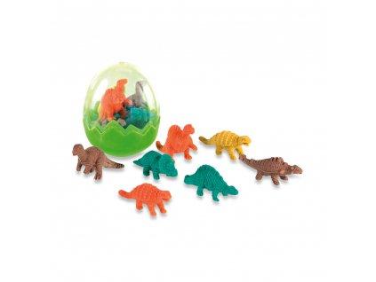 Sada 7 gum dinosauři 91928 109 c