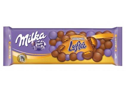Čokoláda Milka 250gCaramel Luflée