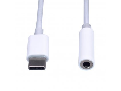PremiumCord Převodník USB C na audio konektor jack 3,5mm female 10cm