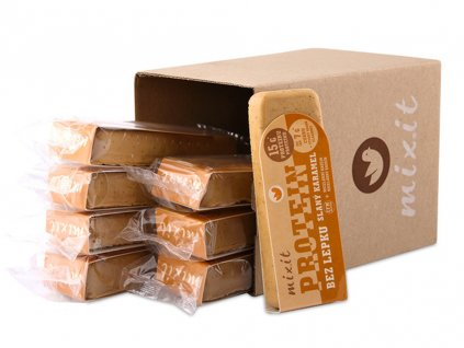 Proteinové Mixitky BEZ LEPKU Slaný karamel 50g