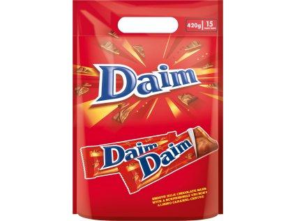 DAIM čokoládové tyčinky s karamelem 15 ks 420g