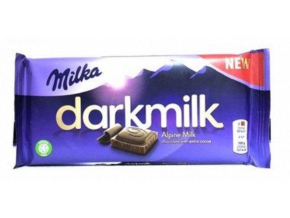 Čokoláda Milka 100g DarkMilk