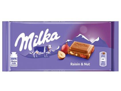 Čokoláda Milka 100g Raisins Nuts 2