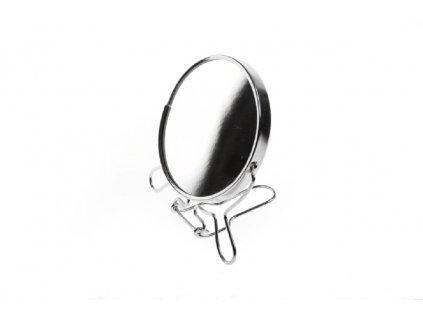 Kosmetické zrcadlo průměr 9 cm oboustranné 1769412