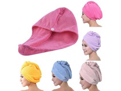 Rychleschnoucí ručník fialová mix barev