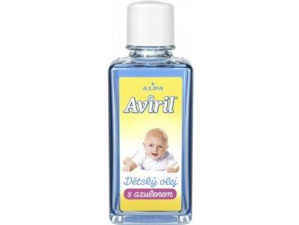 Dětský olej Aviril s azulenem 50ml
