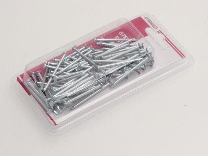 Hřebíky ocelové 128g 4cm 8010629