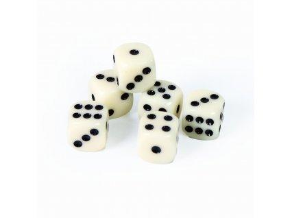 Hrací kostky 6 ks