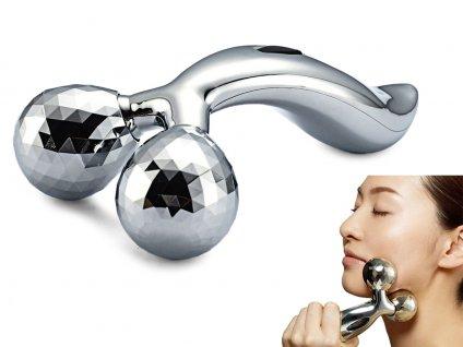 3D Massager masážní přístroj na tělo a obličej 1