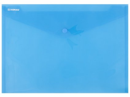 Obálka s drukem PP, A4 modrá