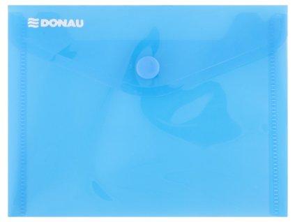 Obálka s drukem PP, A6 průhledná modrá