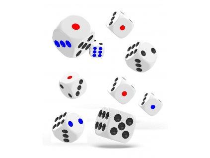 Hrací kostky 9 ks
