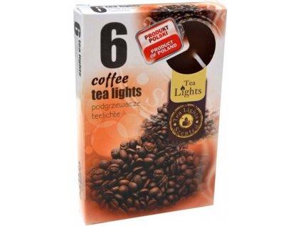 čajové vonné svíčky 6 ks Coffee