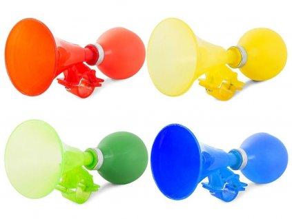 Klakson na kolo plastový mix barev
