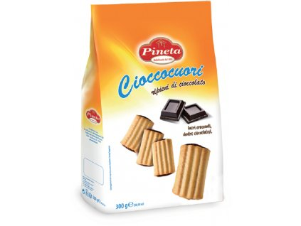 Sušenky Pinetaplněné čokoládou Cioccocuori 300g