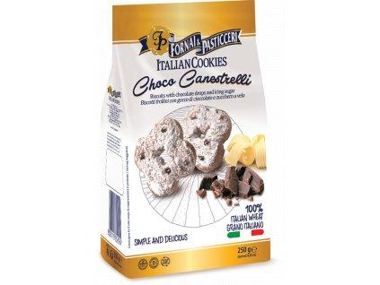Sušenky s čokoládovými lupínky 250g