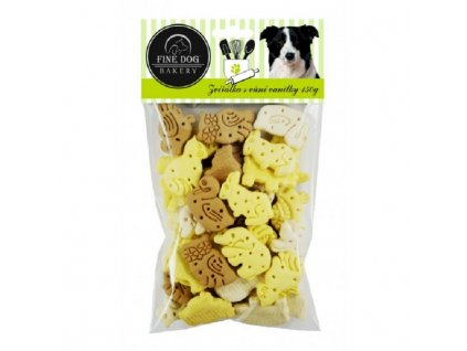 FINE DOG Bakery Zvířátka MIX s vůní vanilky 150g