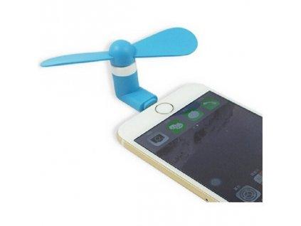 Ventilátor MINI pro IP telefony modrý