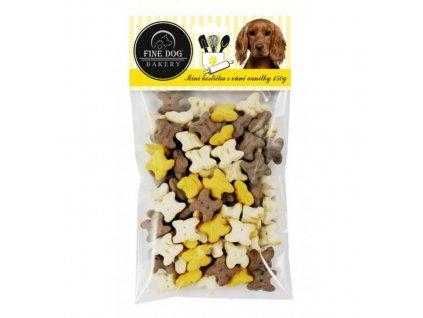 FINE DOG Bakery Mini kostička MIX s vůní vanilky 150g 2