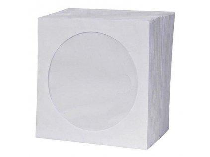 Obálka papírová na CD a DVD s okénkem 28 ks